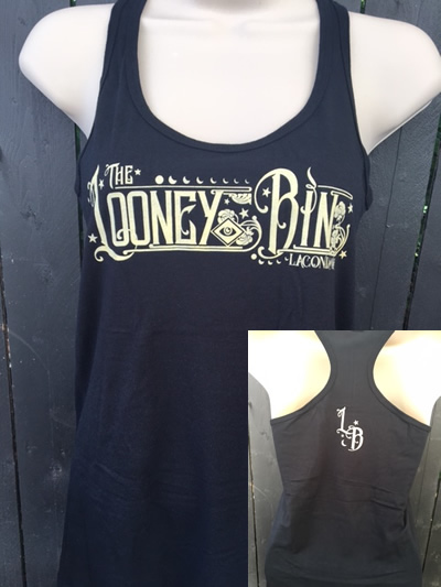 Black Fitted Racerback Tank